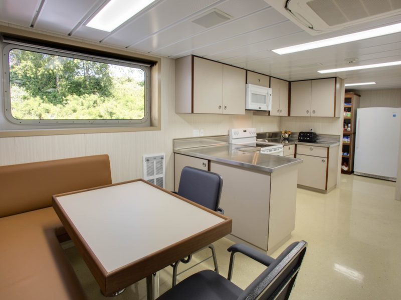Tidewater Crown Point Tug Boat New Galley by Shellback Interiors